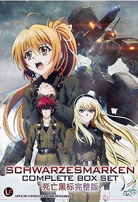 Cool Anime Japan Dvd Schwarzesmarken Vol 1 12 End Complete Box Set