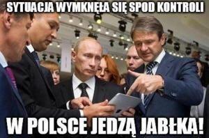 W Rosji nikt nie płacze po polskich jabłkach