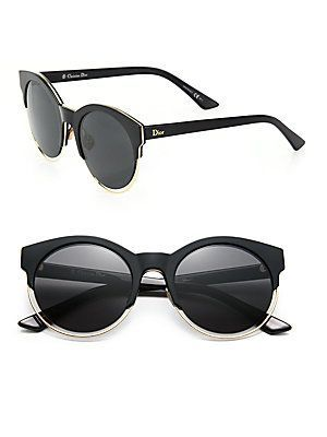 6c52214a65d2 Dior Sideral 53MM Round Sunglasses