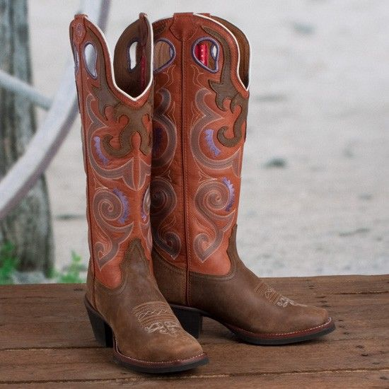 3293989f0eb Tony Lama Ladies' Sunrise Buckaroo Boots at Rod's Western Wear ...