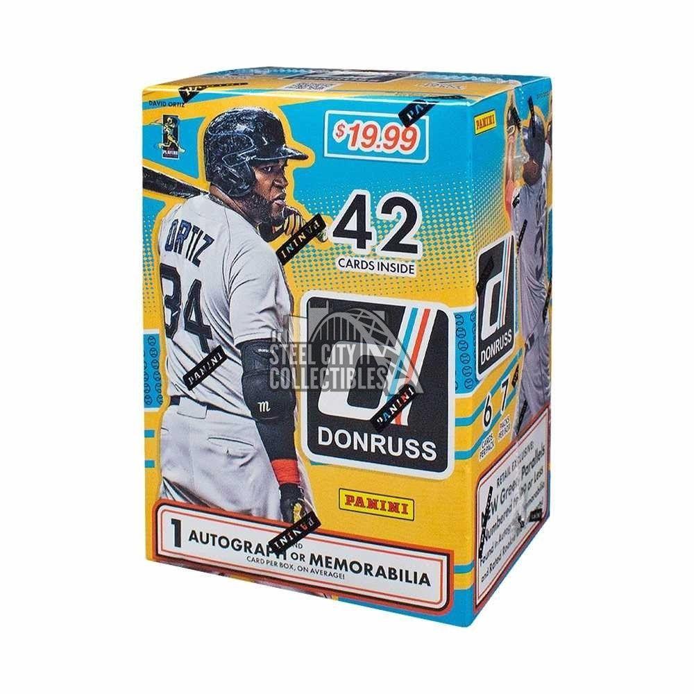 2016 panini donruss baseball 7ct blaster box