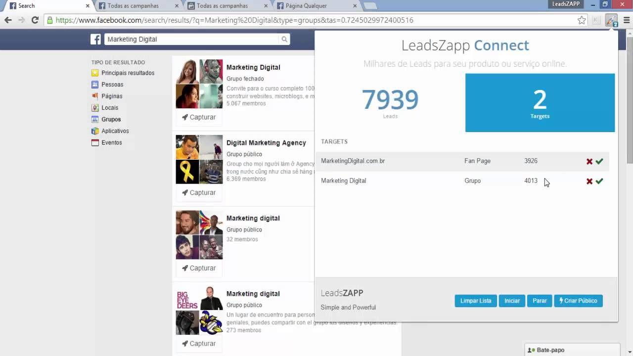 Criando Público Personalizado Com LeadsZapp - Segmentação Facebook