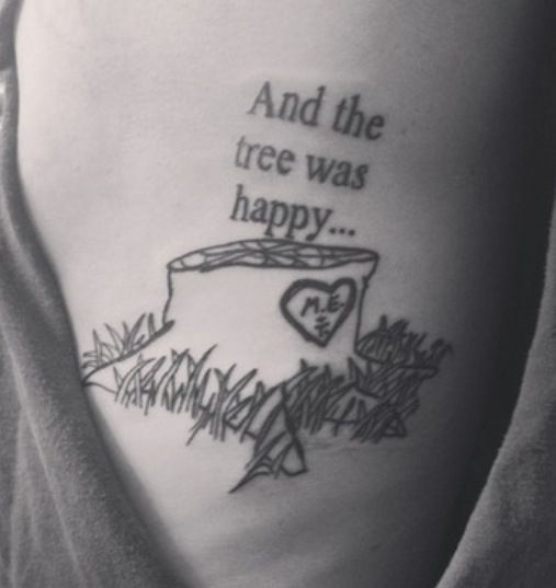 My Arm Is Dedicated To My Childhood Shel Silverstein Was: Oh. My. Goodness. This Made Me Tear Up!!!!!!!!
