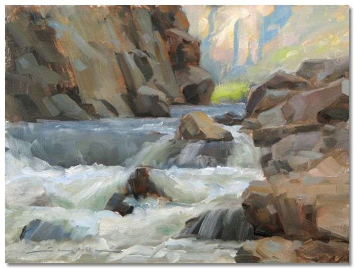 Dave A. Santillanes - Poudre river, fading light