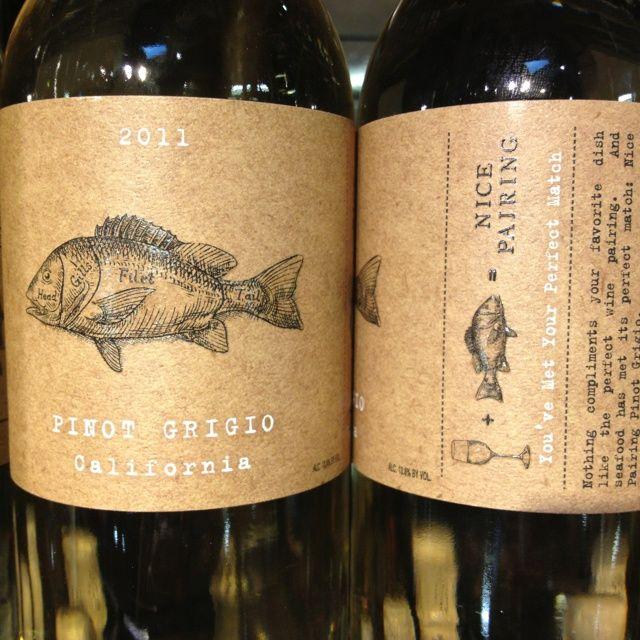 kraft paper wine labels - Google Search Packaging Pinterest - wine label