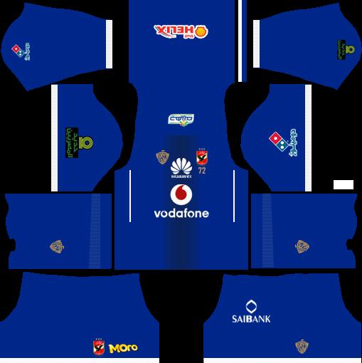 Dream League Soccer Kits Alahly Egypt With Logo Url 2017 2018 Soccer Kits Soccer Premier League Football