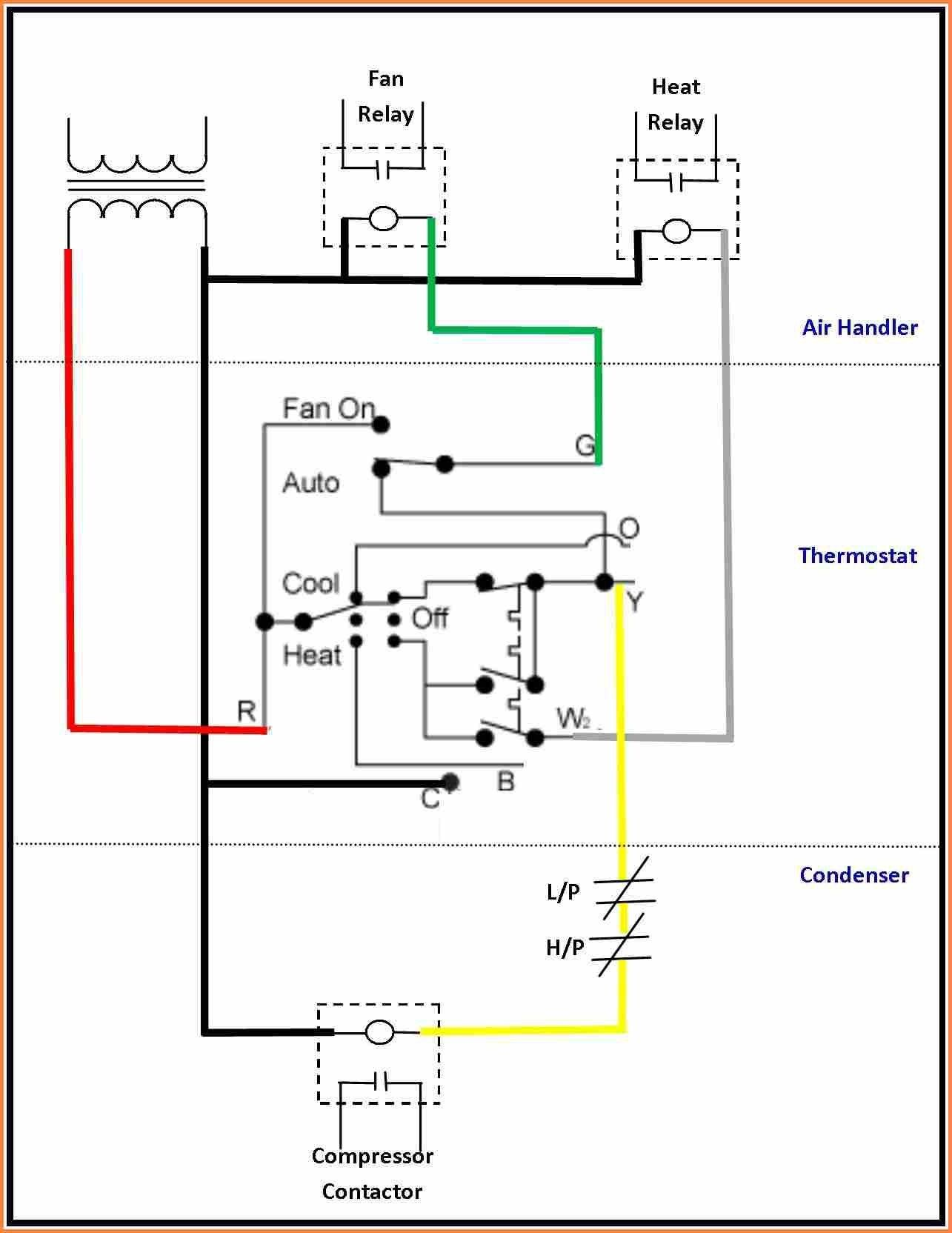 Goodman Condensing Unit Wiring Diagram in 2020