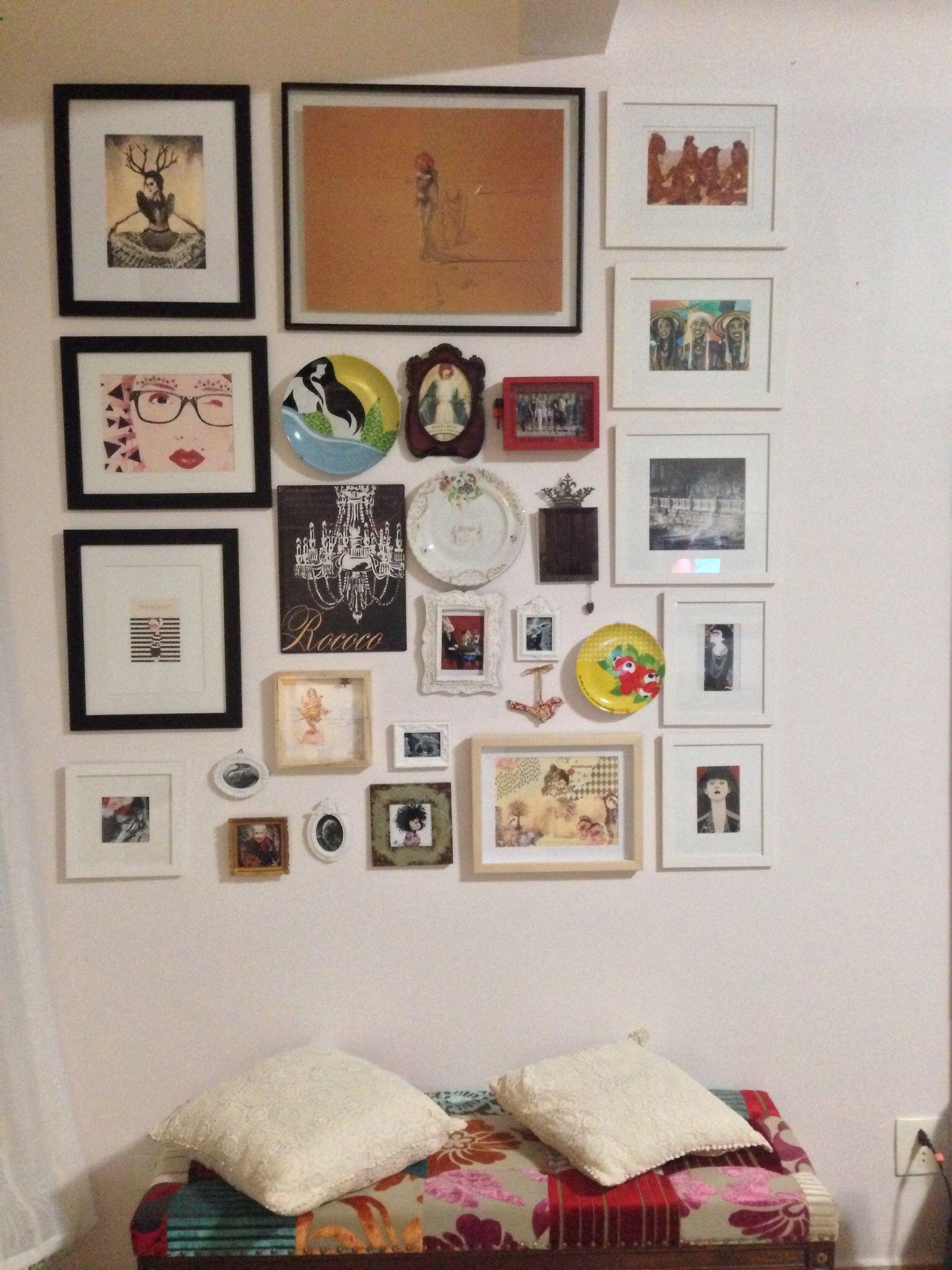 Minha parede feminina...