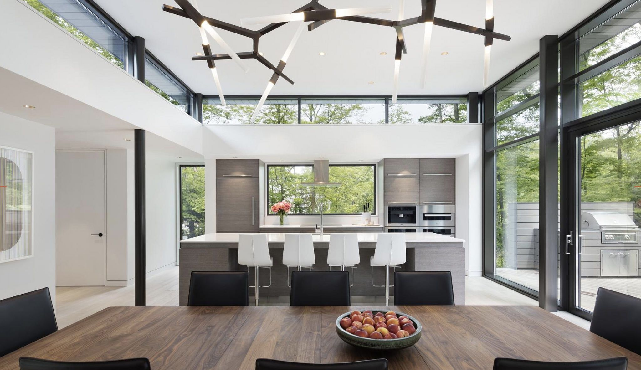 Comedor cocina by kin tiko kitchen countertops cabinetry contemporary interior design also house inspiration home modern dining rh pinterest