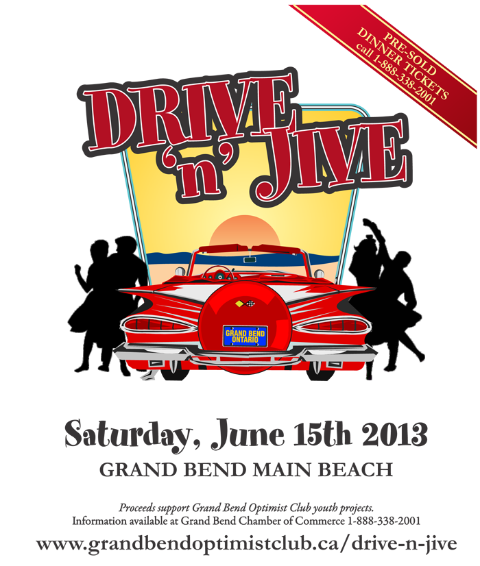 Drive 'n Jive Fundraiser Fun all day event with pancake