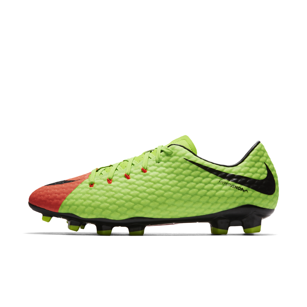 a9b73e56c93 Nike Hypervenom Phelon 3 Firm-Ground Soccer Cleats Size 11.5 (Green) -  Clearance Sale