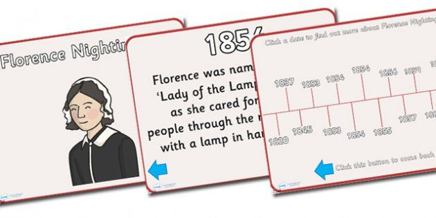Florence Nightingale Timeline Powerpoint  Florence Nightingale