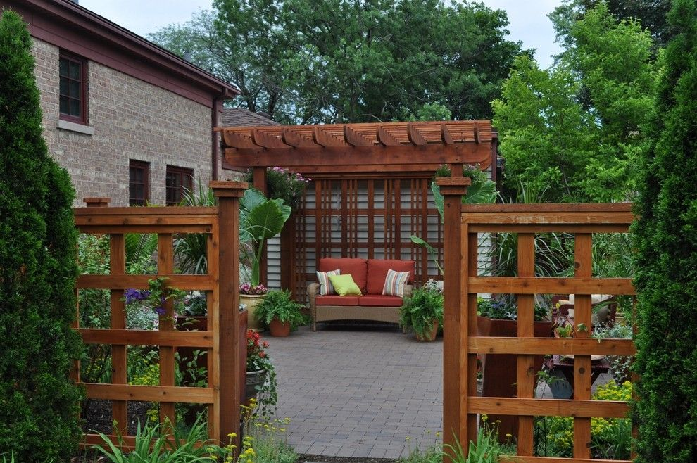 landscaping ideas for backyard Patio Traditional with backyard landscape ideas backyard
