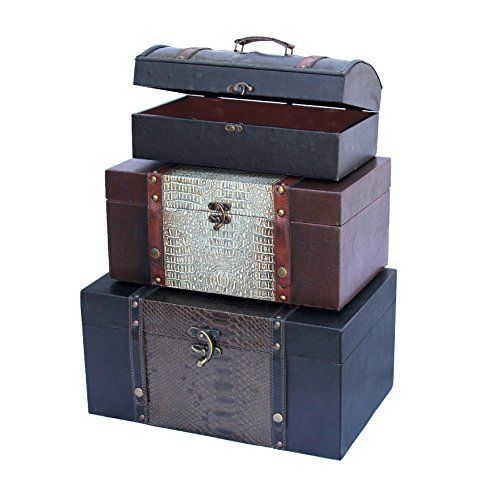 Decorative Storage Crocodile Leather Trunks (Set of 3) Qu... http://www.amazon.com/dp/B00EBWFFGW/ref=cm_sw_r_pi_dp_fIgpxb1TQ61XW