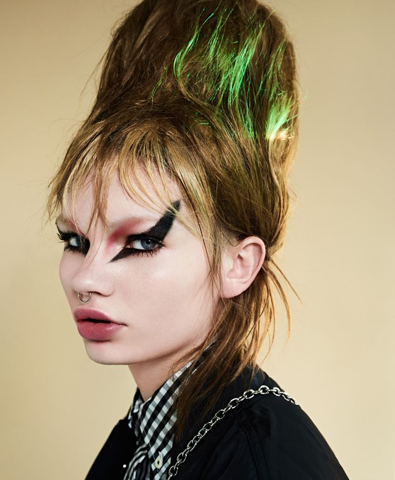 Six Days Of Punk Tush With Images Punk Makeup Punk Rock