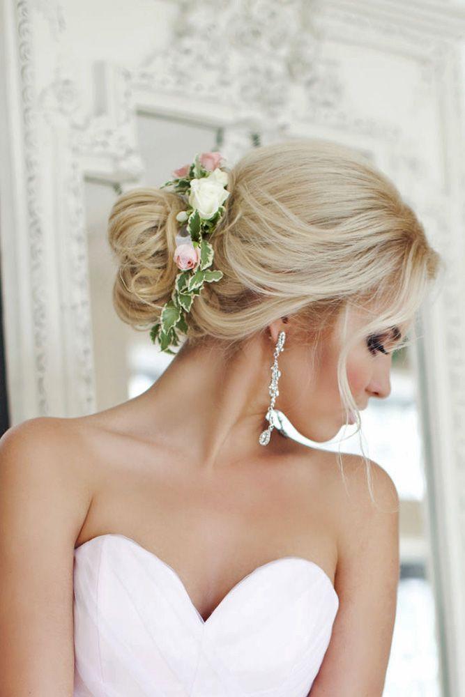 36 Trendy Swept-Back Wedding Hairstyles   Wedding ...