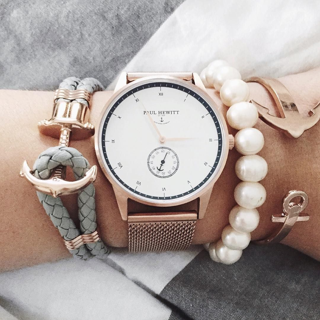 Beautiful Combination Of Our Signature Line And Phrep And Ancuff Getanchored Paul Hewitt Accesories Jewelry Fashion Watches