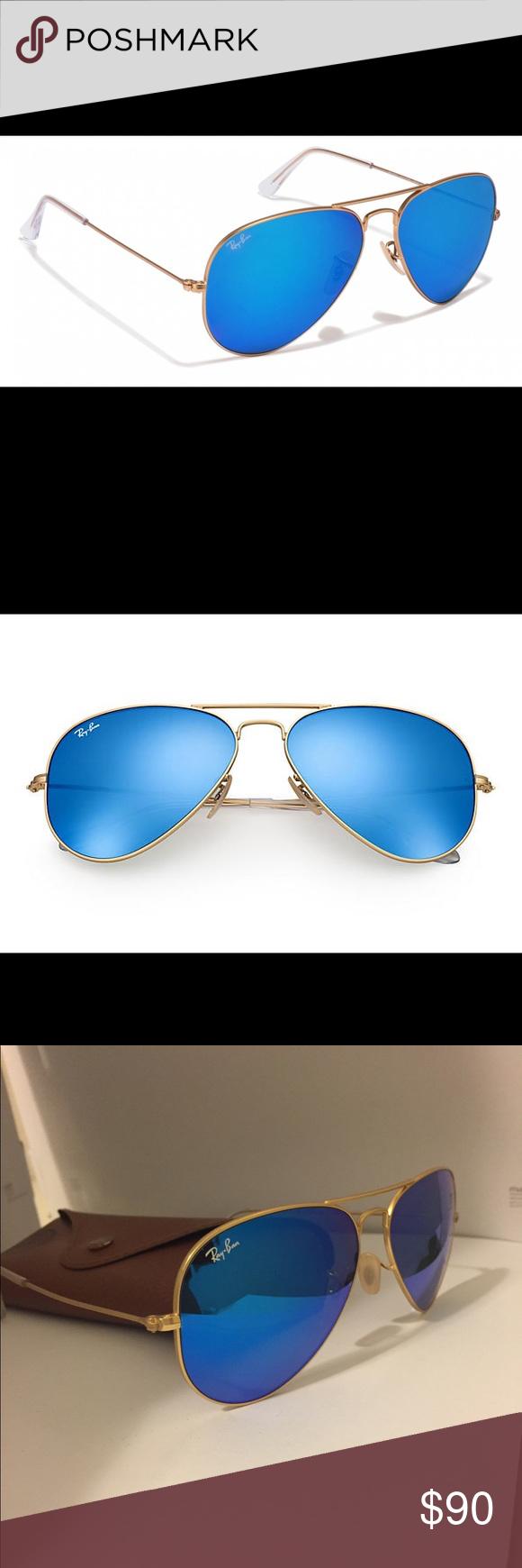 1817ea70121 Blue Lense Ray Ban Aviators « One More Soul