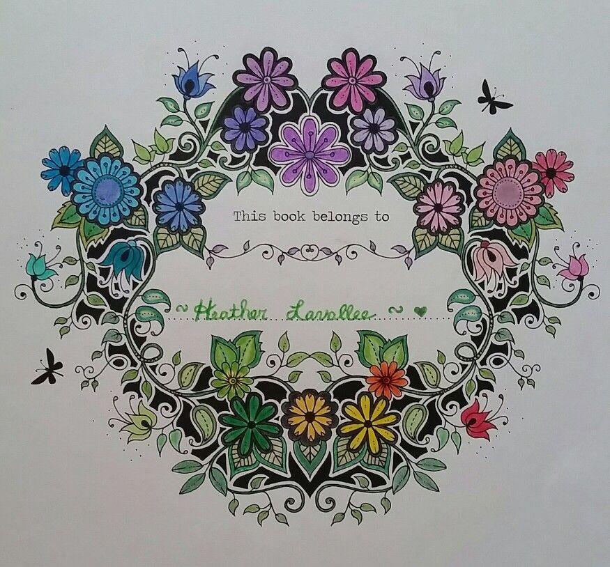 Secret Garden Johanna Basford