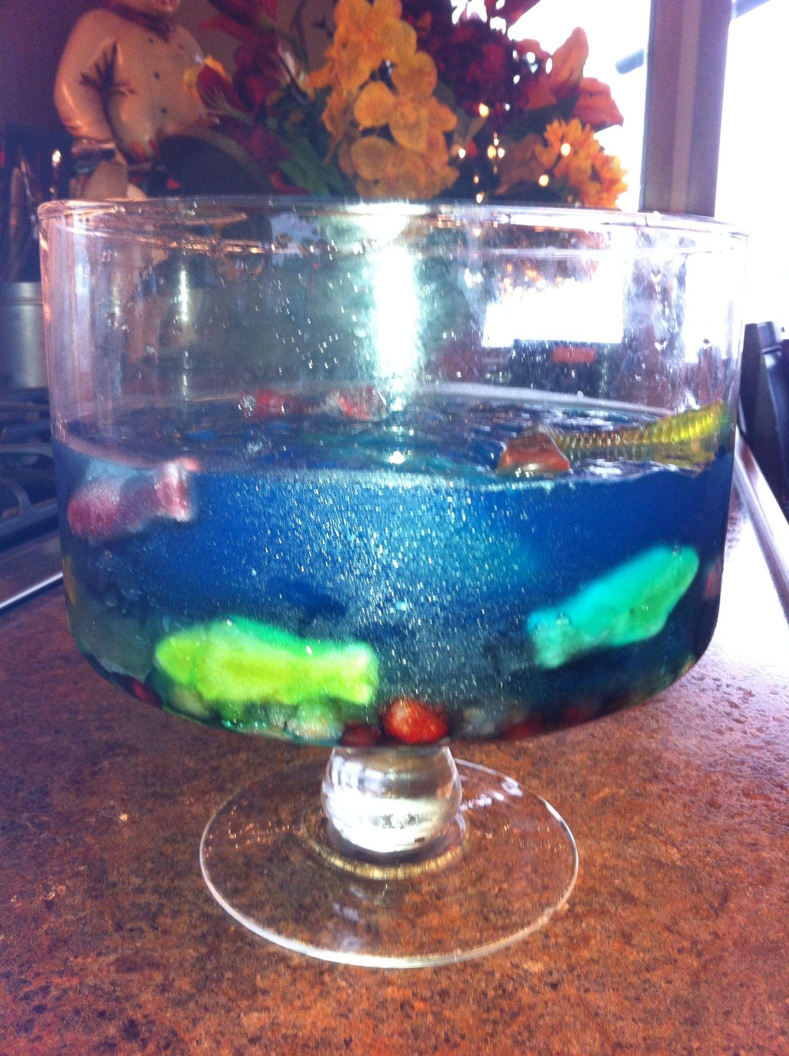 Edible aquarium child pleasers pinterest for Edible freshwater fish