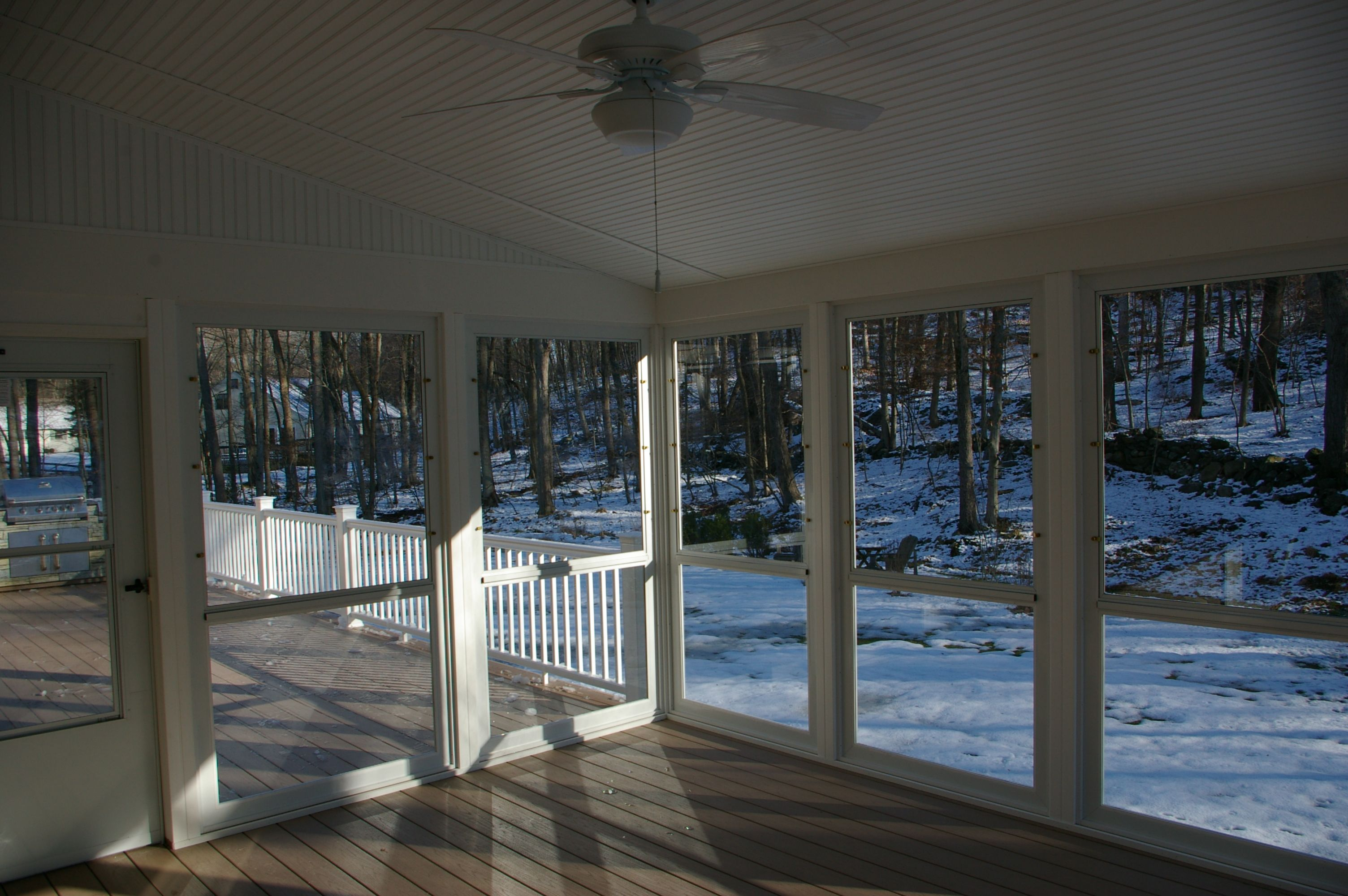 High Quality Enclosed Porches Sunrooms | Screen Porch Vs. Enclosed Porch Or Sunroom |  Custom Decks Of