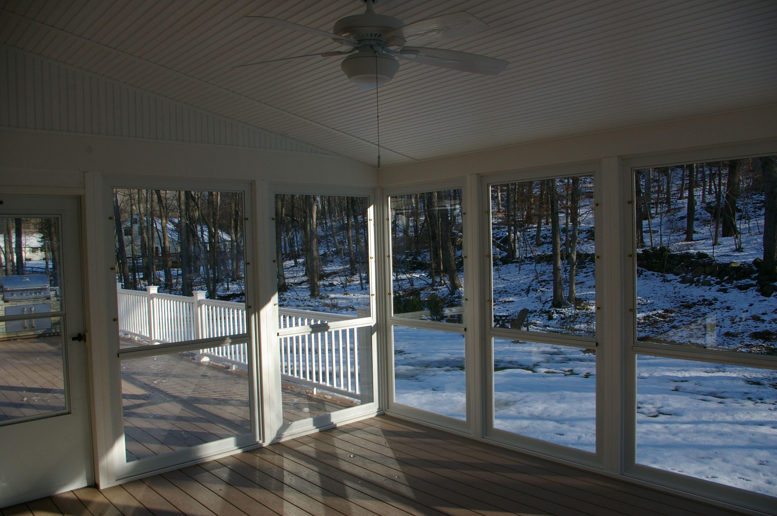 Enclosed Porches Sunrooms | Screen Porch Vs. Enclosed Porch Or Sunroom |  Custom Decks Of