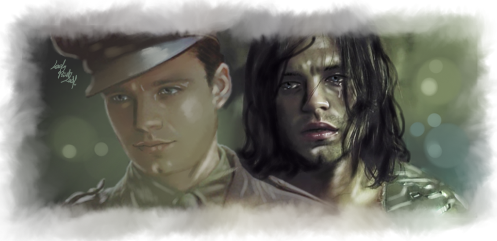 Bucky - The Ghost of me by LadyMintLeaf.deviantart.com on @deviantART » this made be tear up!!
