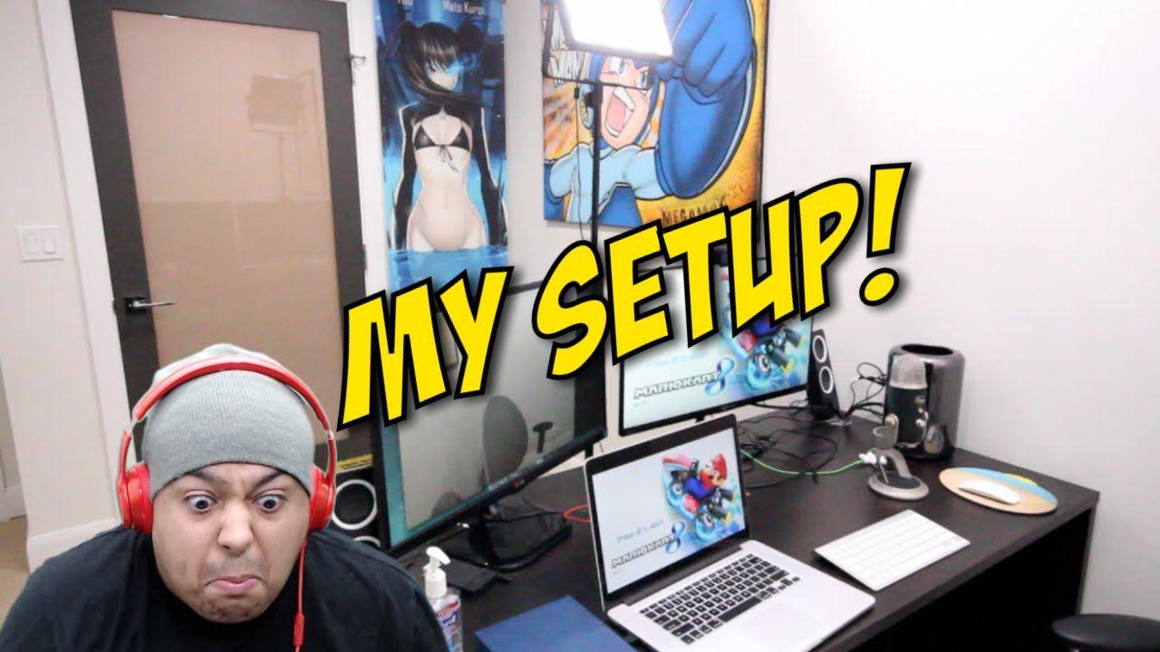 MY SETUP x OFFICE TOUR! [THE GAME] Setup, Games, Tours