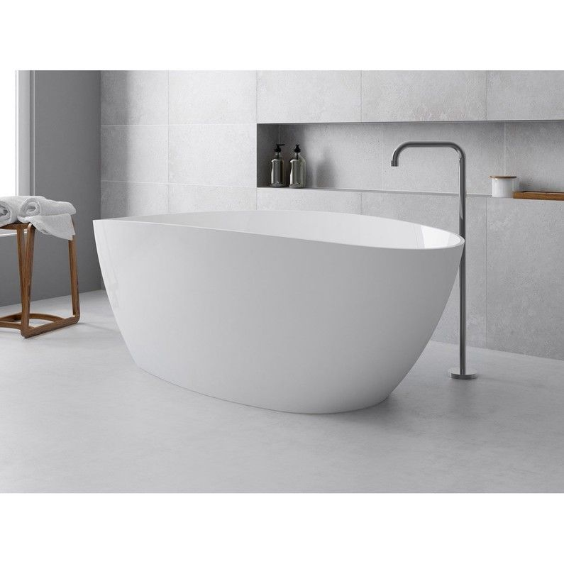 Baignoire Ilot Ovale L 170x L 77 Cm Blanc Stori Bathroom Design Modern Bathroom Design French Bathroom
