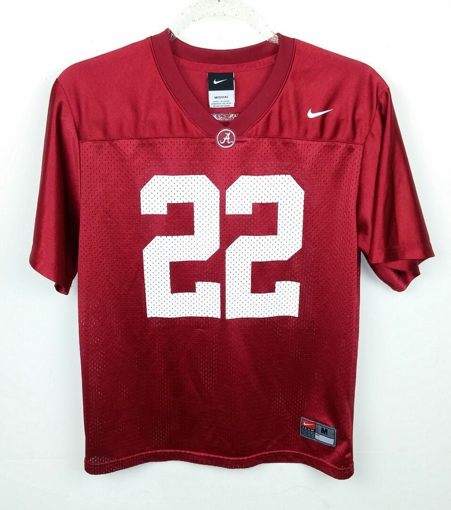 sports shoes 3522e 22ecf Details about NIKE Alabama Crimson Tode Football Jersey ...