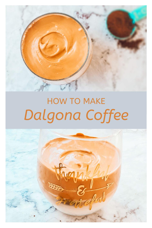 Dalgona Whipped Coffee espressocoffee Dalgona Whipped