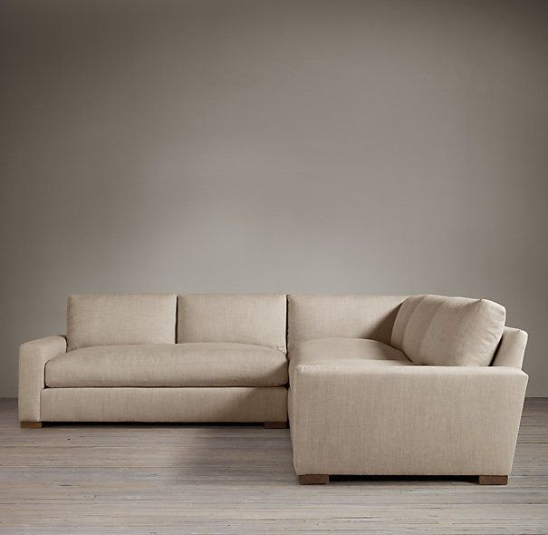 Maxwell Upholstered Corner Sectional | Sectionals | Restoration Hardware
