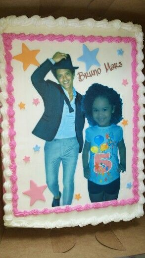 Bruno Mars cake | Birthday Ideas in 2019 | Bruno mars birthday ...