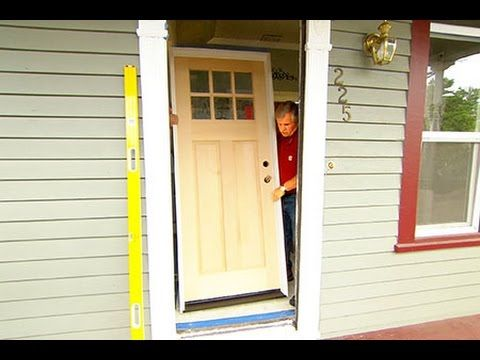 How To Install A Solid Wood Exterior Door You