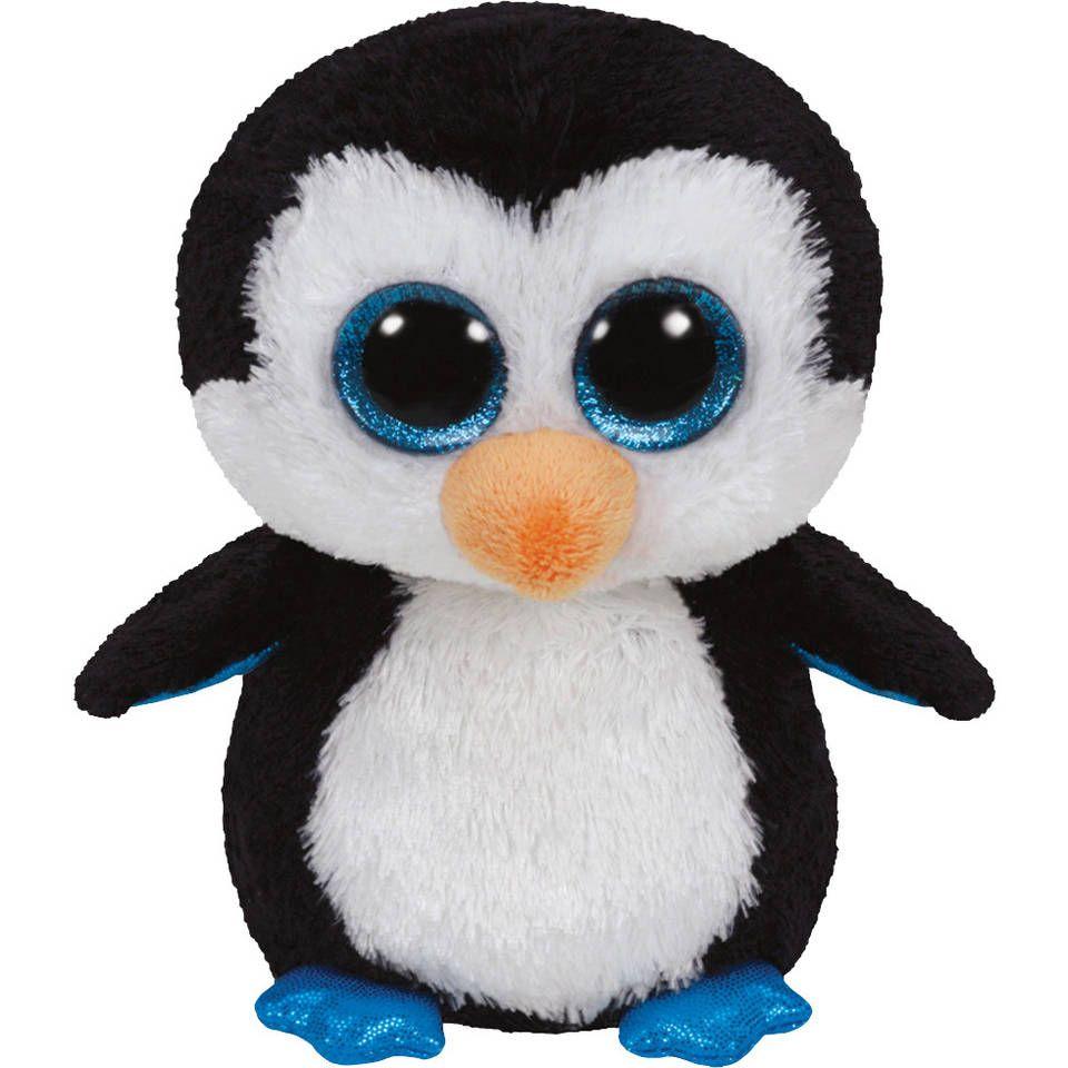 Ty Beanie Boo S Knuffel Waddles De Pinguin In 2020 Knuffel Beanie Boos Beanie Boo