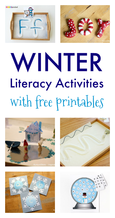 Photo of Winter literacy lesson plans with free printables!