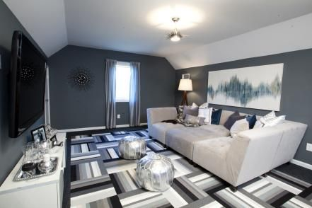 25 Amazing Makeovers By The Property Brothers Home Home Theater Rooms Property Brothers