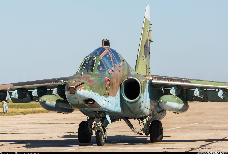 Sukhoi Su-25UB aircraft picture