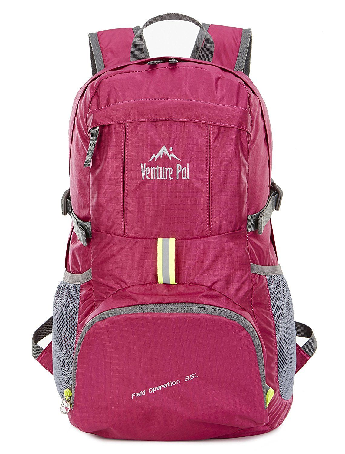 8e873cd1fc4 Amazon.com   Venture Pal Ultralight Lightweight Packable Foldable Travel  Camping Hiking Outdoor Sports Backpack
