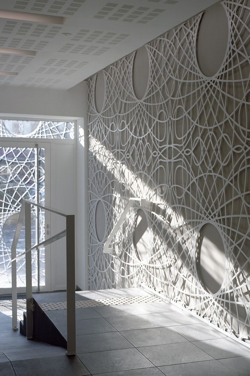 This building facade is covered in decorative panels made from this building facade is covered in decorative panels made from concrete dailygadgetfo Choice Image
