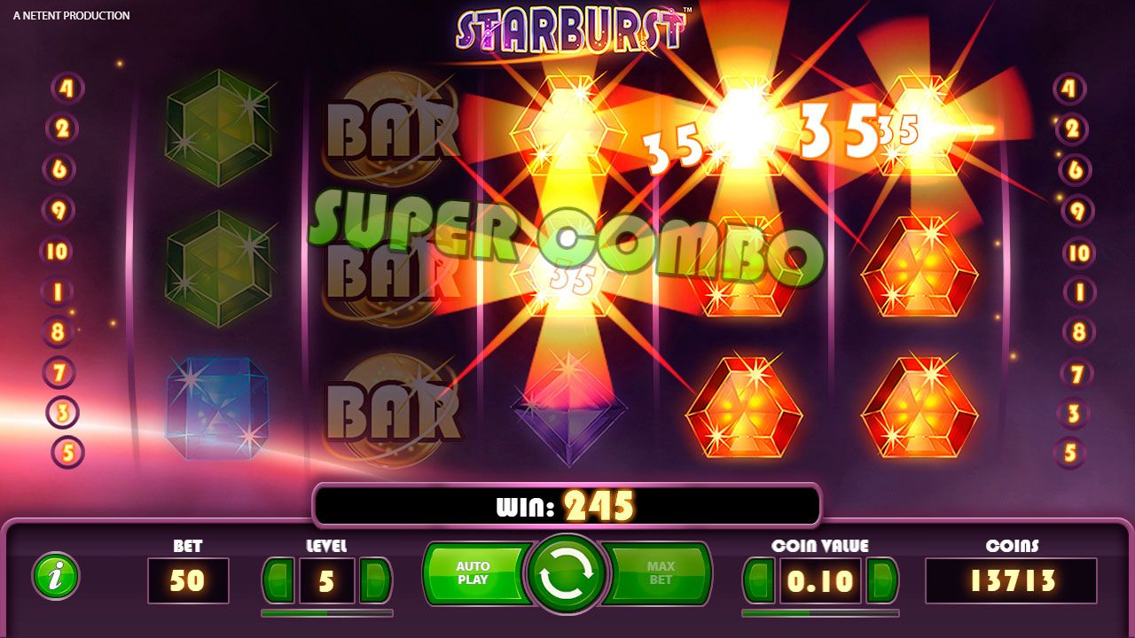 Starburst video slot can be rightly called one of the most