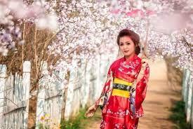 cô gái dễ thương bên rừng hoa anh đào,du học Nhật bản, du hoc Nhat Ban duhoc.thanhgiang.com.vn