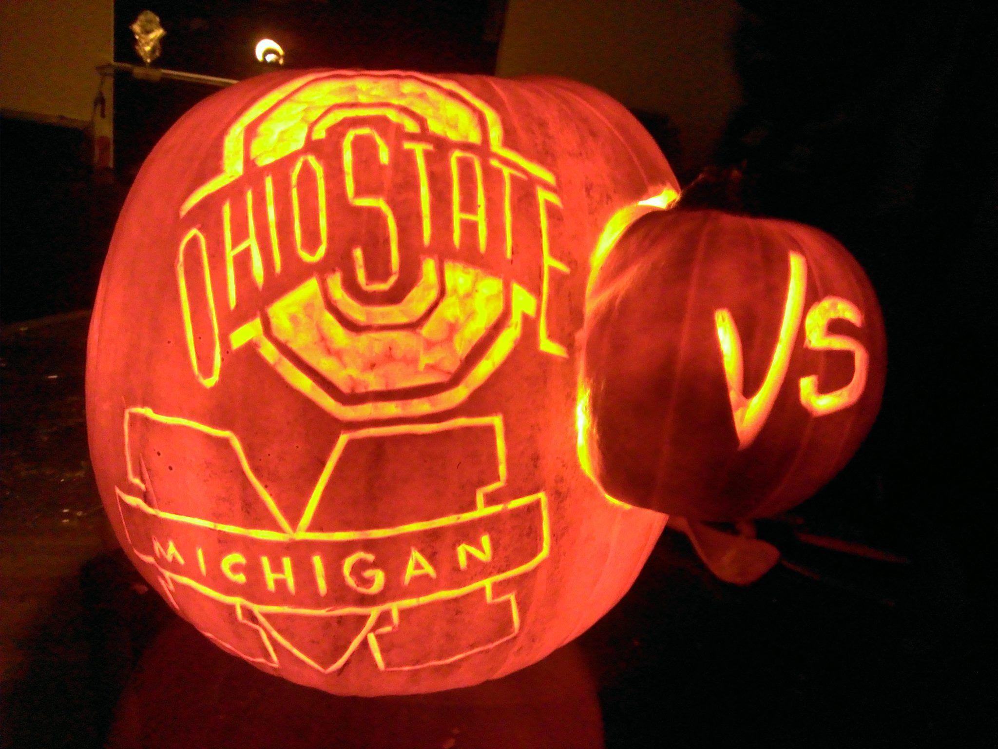 Ohio State Pumpkin Pattern Wwwtopsimagescom