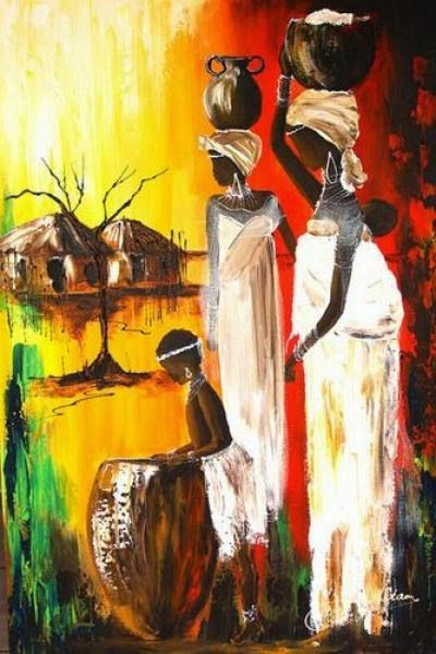 African Art Gallery For African Culture Artwork Abstract Art Contemporary Art Daily Fine Art Painti African Art Paintings African Paintings African Artwork