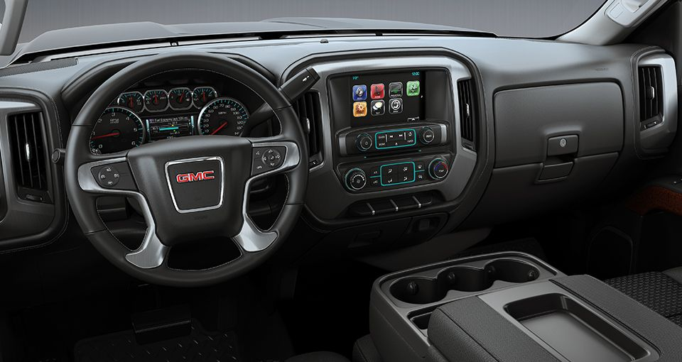 2018 Gmc Sierra 3500hd Pickup Truck Interior View From Gm Fleet