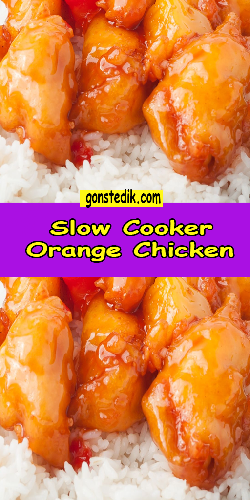 Photo of Slow Cooker Orange Chicken
