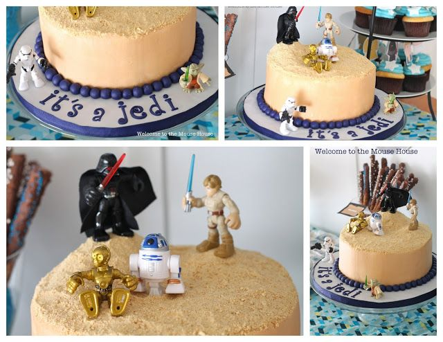 Star Wars Themed Baby Showers Welcome To The Mouse House Star