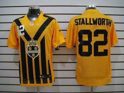 nfl jerseys youth Nike Steelers  82 John Stallworth Gold 1933s Throwback  Men s Stitched NFL Elite ab76c3496