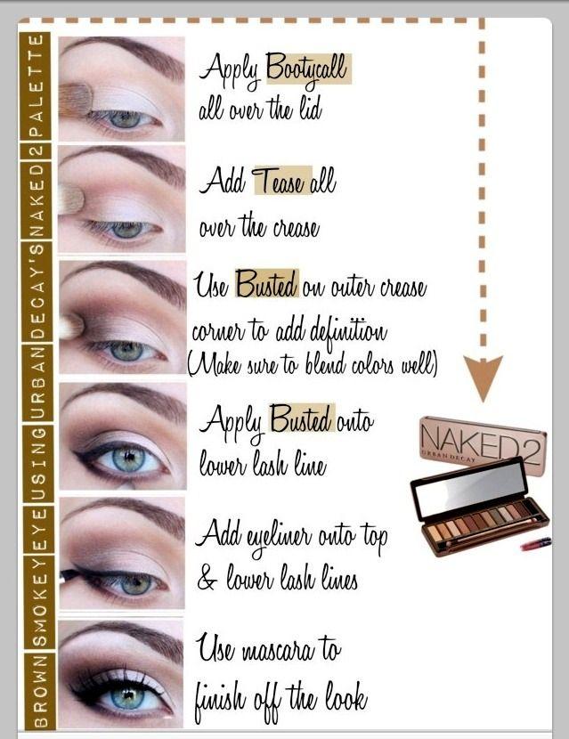 Naked2 Palette Eyeshadow Look