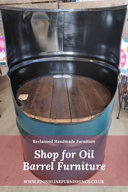 Handmade From A Reclaimed Oil Barrel